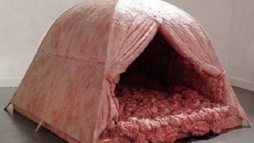 在这顶帐篷里,睡一晚就能获得100000元奖励,至今无人成功