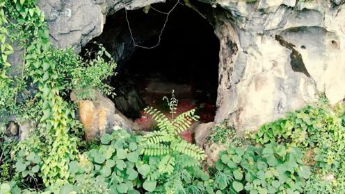 """广西山洞真的很神秘,无人机冒险靠近,果然发现不寻常的""""东西"""""""