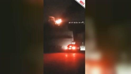 上海开往开化D5689次动车起火官方:尾部机车突发故障