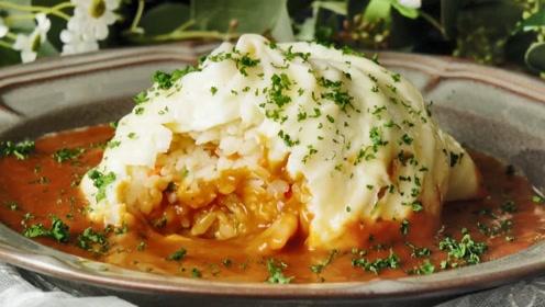 给炒饭穿上小裙子,平凡的食物也能变成浪漫的礼物!