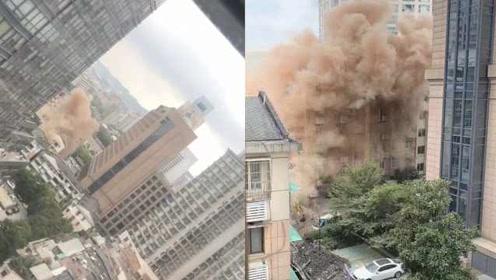 杭州JW万豪酒店后门传出巨响致停电,酒店:施工破坏电力线路