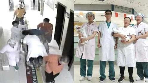 四川妇产科医生一路跪托婴儿脐带,保住母子3条性命