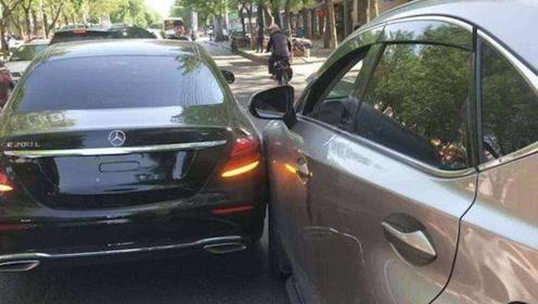 车子停在路边无故被撞,应先报警还是先报保险?顺序弄混一分不赔