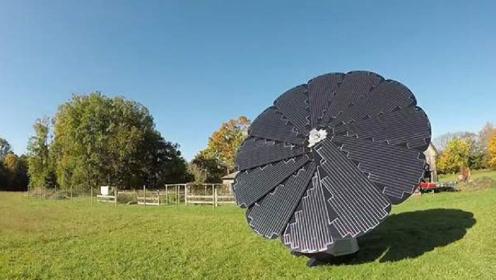国外发明黑科技太阳能,一年发电6200度,装一台就不再交电费!