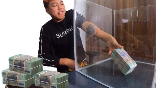 价值5亿元的越南币,谁能拿出来就归谁?钞票:我看谁有本事!