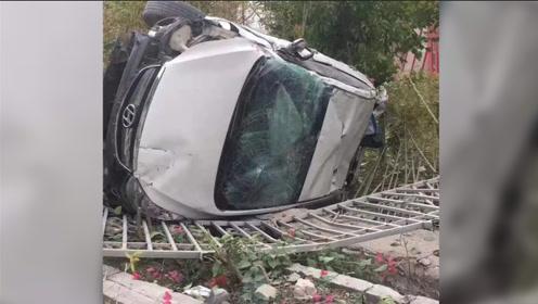 夫妻开车互相追逐致路人2死1伤 一名小学生重伤送医