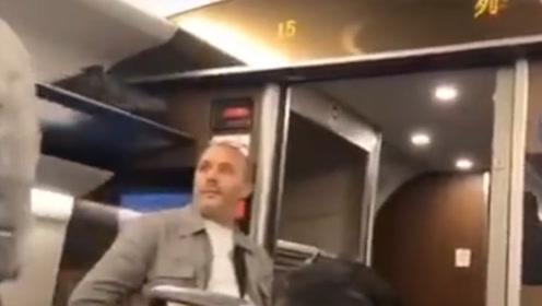 不懂外语还是内外有别?外籍乘客疑拉下高铁紧急制动阀未被处理