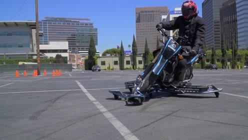 老外发明的摩托车安全翼,学侧滑不会摔伤,轻松掌握技巧