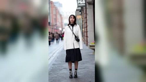 准备出一个马丁靴女孩特辑,每个穿搭都太好看了!#街拍 #...