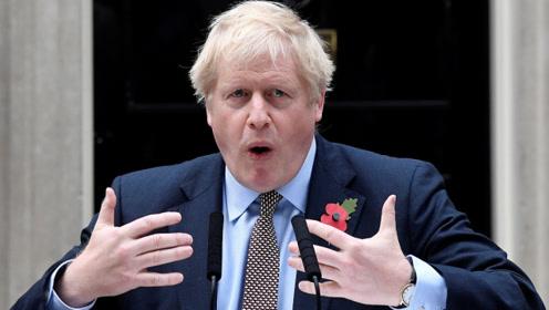 """别无选择?约翰逊:对英国脱欧感到失望,沮丧得想""""咬领带"""""""