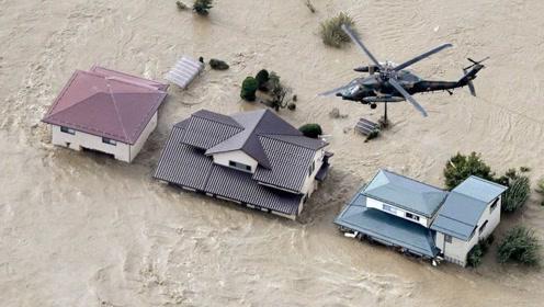 上百万人连夜逃离,日本遭遇60年罕见灾难,所有飞机几乎全部停飞