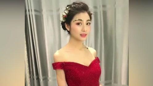 看看别人家的新娘,那叫一个漂亮,真是令人羡慕