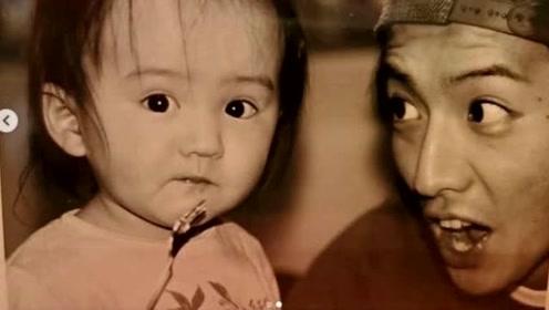 木村光希晒童年照庆父亲生日 感性表白父亲的付出