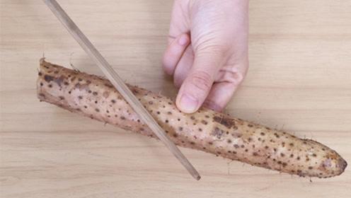 抓紧在山药上插一根筷子,很多人不知道有啥用,学会受益终身