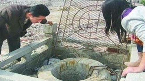 北京锁龙井,十八个壮汉都扯不动,底下到底锁着什么东西?