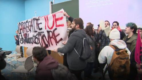 法国学生发起暴力抗议,法官员:暴力在大学没有立足之地