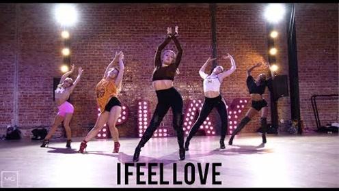 女神Marissa超柔韧高跟鞋编舞骚姆新单曲《I Feel Love》