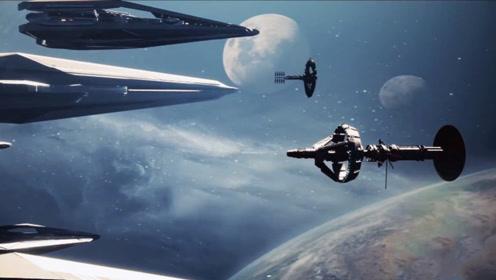 特效媲美好莱坞的短片,星际时代太空扩张,每一帧经费都在燃烧!