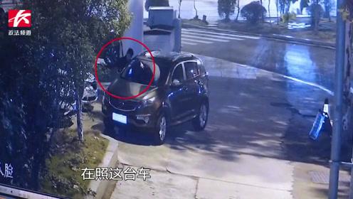 1晚作案14起!盗窃团伙专挑路边车砸窗,5人全被抓