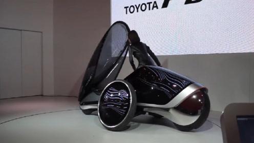 """丰田设计出""""黑科技""""汽车,车内没有方向盘,驾驶全靠身体扭动!"""