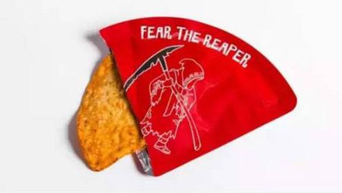 世界上最辣的薯片,每包抠门到只有一片,却让吃辣爱好者第一口就甘拜下风!