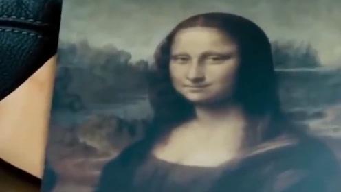 《蒙娜丽莎》放大3.14倍后发现了什么?爱好者:不愧是名画