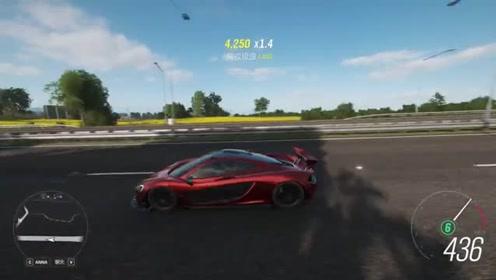 老司机驾驶红色跑车参加比赛,车技真不错,配置高就是好开!