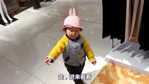 爸爸:你怎么知道二楼是卖女装的?宝宝:我天天陪你老婆逛街!