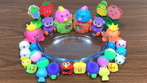 透泰水晶泥混合彩色泡沫球、起泡胶,DIY史莱姆教程