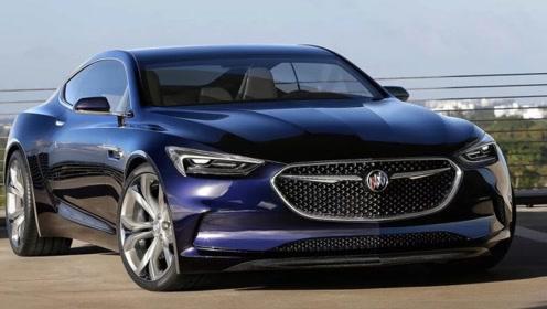 别克Avista比奥迪A7还帅,将成为最美量产轿跑,长见识了!