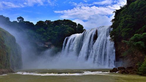 我国一处瀑布,比黄果树瀑布还高6倍,你知道在哪座城市吗