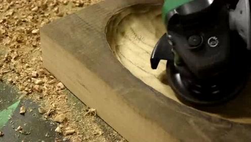 这才叫老木匠,做出的成品让人羡慕不已,手艺活厉害了!