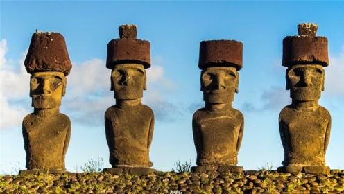 千年的神秘石像巨帽最重达12吨,如何戴上去的?令专家费解