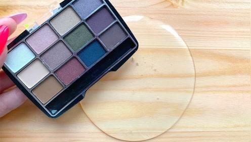 用眼影、唇釉、亮片等给透泰染色,无硼砂,你喜欢哪一个