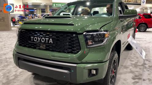 丰田的顶级硬派越野,2020款丰田Tundra TRD PRO版实拍