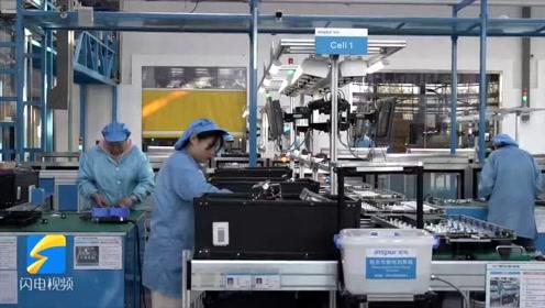 这就是山东丨智能化机器人、立体仓库……记者实地探访浪潮智能工厂
