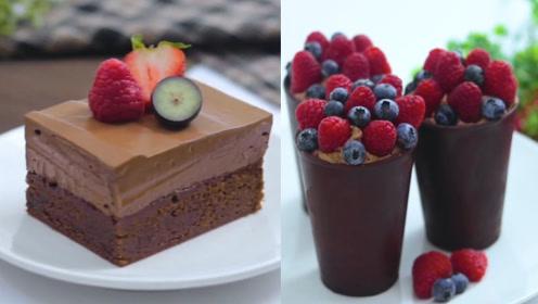 解锁巧克力创意新玩法:做成水果蛋糕糖果!每款都能吃出不同口味