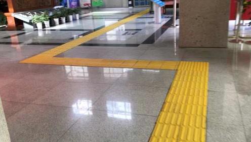 办盲人离婚案,浙江这个法院修130米盲道,延至每个法庭门口