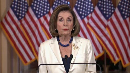 美众议院宣布起草弹劾特朗普条款 特朗普发推:我们会赢的!