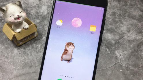 教你在手机锁屏时设置一个小仓鼠,如果有人碰你手机就会跳出来
