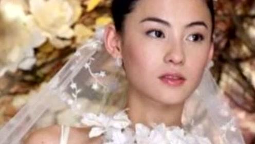 张柏芝晒婚纱照宣布婚讯 这张照片还原一切真相