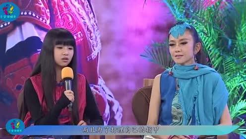 杨丽萍每年花十几万做指甲!看到她的脚时!你还羡慕吗?!
