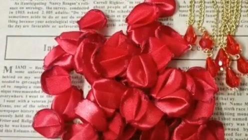 结婚根本不用求人,自己做胸花,比买的还要好看!