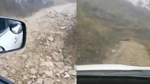 云南4名老师家访途中车辆翻下坡,致2死2伤,事发前录影流出