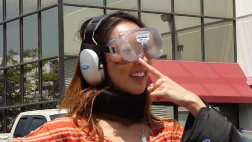 酒驾到底是什么感觉?老外发明酒驾模拟器,穿上再也开不稳了!