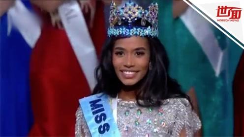 牙买加佳丽喜提2019世界小姐 5大顶尖选美比赛冠军首次均为黑人