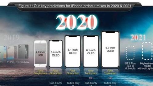 5款!iPhone12全系、SE2齐曝光:399美元起、史上最强大阵容