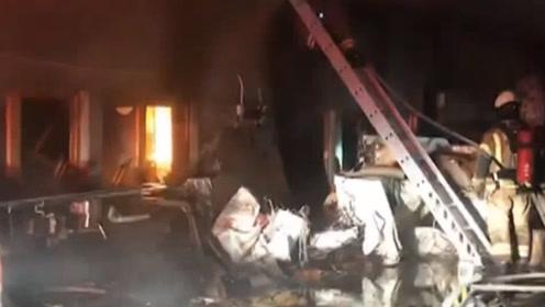 现场!台湾21岁富二代纵火烧民宅致7死2伤 曾袭警夺枪被制服