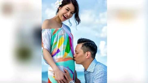 胡杏儿宣布怀孕:李宝宝已在我肚子里做仰卧起坐了