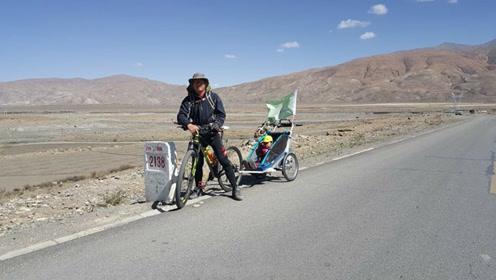 80后爸爸带4岁女儿骑行2年多环游中国